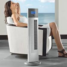 tower fan with air purifier mighty max tower fan at brookstone buy now