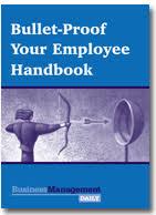 personnel handbook template employee handbook template sample