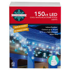 white led icicle lights 120 blue and cool white led icicle lights meijer com