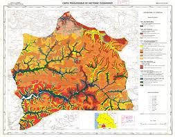 Senegal Map National Soil Maps Eudasm Esdac European Commission