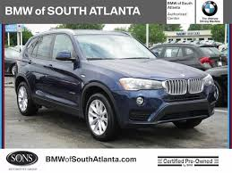 certified used bmw x3 for sale certified used 2017 bmw x3 xdrive28i sports activity vehicle
