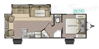 Breeze House Floor Plan by 2016 Pacific Coachworks Sea Breeze 2690 U2013 Stock Sb16026 The Rv