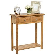 70 cm wide console table waverly oak 2 drawer large console table in light oak finish solid