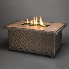 Rectangle Fire Pit Table Franklin Rectangular Gas Fire Pit