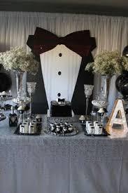 Black And Silver Centerpieces by James Bond Casino Royale Event Centerpieces Party Ideas