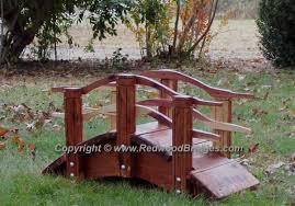 backyard bridges asian style miniature garden bridges