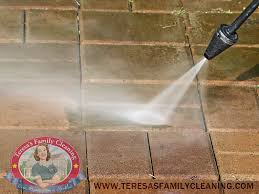 Cleaning Patio With Pressure Washer How To Give Your Home A Mean Green Pressure Washed Clean