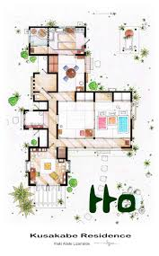 Houses Layouts Floor Plans by Detailed Floor Plan Drawings Of Popular Tv And Film Homes