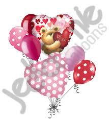 heart balloon bouquet be mine teddy heart balloon bouquet jeckaroonie balloons