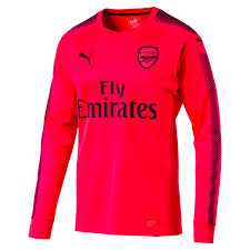 goalkeeper jersey design your own arsenal long sleeve goalkeeper jersey bright plasma puma black m