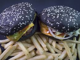 halloween script background burger king u0027s black halloween whopper has an unexpected side