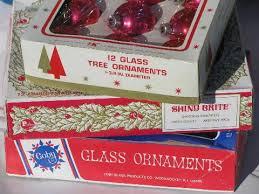 vintage ornaments lot mercury glass balls shiny brite etc
