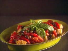 Italian Bread Salad Recipe Ina Garten Greek Panzanella Recipe Ina Garten Food Network