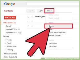 csv format outlook import the best way to add contacts to gmail using a csv file wikihow