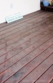 the easiest way to clean a deck ask