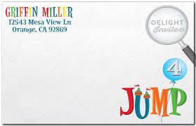 bounce house jump envelope di 301env harrison greetings