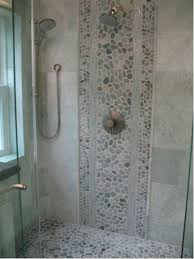 river rock bathroom ideas riverstone tile bathroom best 25 river rock shower ideas on