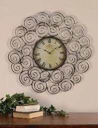 superb small decorative wall clock 148 small decorative wall