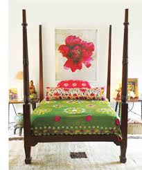 gypsy bedroom decorating ideas brown king size frame bed beautiful