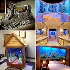 home aquarium these crazy home aquariums will take your breath away