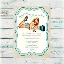 diy bridal shower invitations teal pin up diy bridal shower invitation digital file