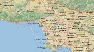 Earthquake Map Seattle by Earthquakes Hit Baldwin Hills Felt Across La Nbc Southern