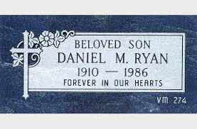 flat headstones for flat monument single 00099 jpg