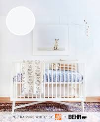 5 paint color ideas for gender neutral nurseries