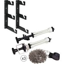 Wall Mounted Paper Roller Wall Mounting Kit With Metal Chain For Roll Paper