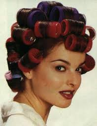 husband forced to sleep in hair rollers 67 best women in rollers images on pinterest rollers in hair