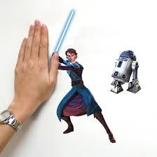 Popular Characters Murals Roommates Roommates Rmk1382scs Star Wars The Clone Wars Glow In The Dark