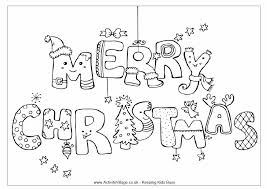 happy christmas coloring pages download print free