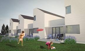 modern terrace house design home design