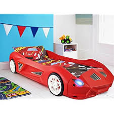 Little Tikes Race Car Bed Little Tikes Roadster Toddler Bed Red Amazon Co Uk Toys U0026 Games