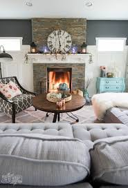 diy livingroom decor fall 2017 home tour cheerful boho farmhouse style the diy mommy