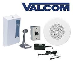amazon com valcom overhead amplified paging system with 8