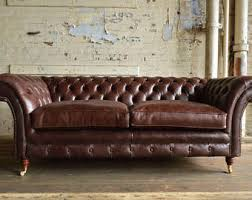 leather sofa etsy