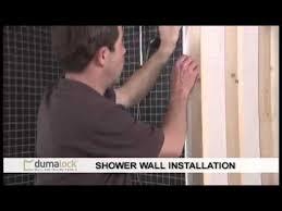 Tiled Wall Boards Bathrooms - dumalock tile effect wall ceiling bathroom shower panels cladding