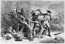 native american thanksgiving pictures file montcalm trying to stop the massacre jpg wikimedia commons