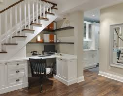 Built In Corner Desk Built In Desk Home Office Traditional With Corner Shelves Wood