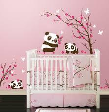 stickers pour chambre bébé fille stickers muraux pour chambre bébé fille chambre idées de