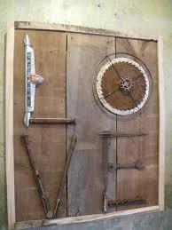 driftwood peace sign door decor wreath wall art sea u0026 green
