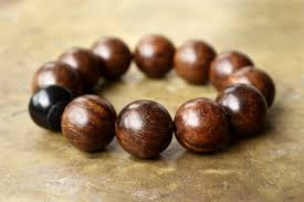 men bracelet bead images Mens brown bracelet very large wooden bead bracelet minimal mens jpg