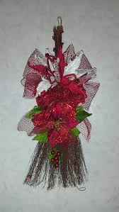 cinnamon broom with peppermint or cinnamon scent