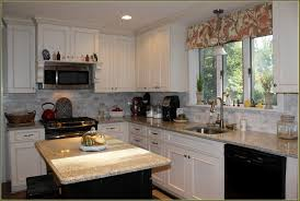 Rustic White Kitchen Cabinets - diy distressed white kitchen cabinets home design ideas