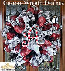 alabama ribbon deco mesh houndstooth alabama wreath deco mesh wreath