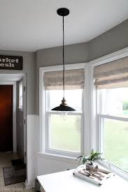 Roman Shades Valance How To Make A Faux Roman Shade Love Grows Wild