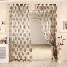 100 Curtains Modern Style Multicolor 100 Polyester Sheer Voile Curtains Panel
