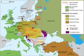 Europe Capitals Map by 40 Maps That Explain World War I Vox Com