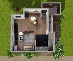 mod the sims the little modern house